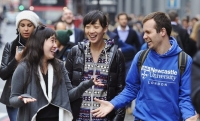 Newcastle University London offers unique scholarships 3000 GBP for business programs!