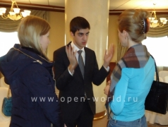 2013 February, Business Education and Career Day - Moscow