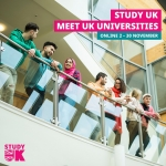 "The Largest online fair of British education ""Study UK""!"
